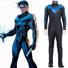 deathstroke halloween costumes online get cheap nightwing cosplay costume aliexpress com