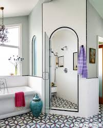 Tiles For Bathrooms Ideas Green Tile Bathroom Makeover Mint And Gray Bath Bar Light