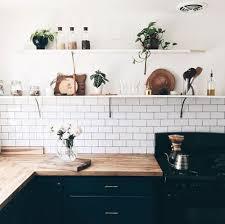 pour la cuisine tuile subway blanche pour la cuisine 15 idées de dosseret