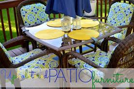 Yellow Patio Chairs Upholstered Patio Furniture Place Of My Taste