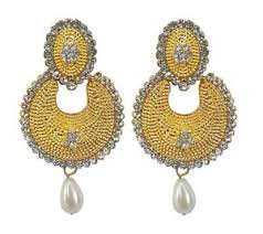 new jhumka earrings new fashion for women gold plated hanging ear jhumka