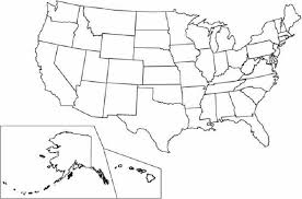 Us Map Of States Coloring Page United States Coloring Page Coloring Pages Usa