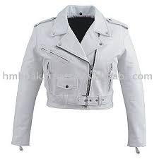 white motorcycle jacket hmb 0329d women leather jackets basic biker white fashion coats