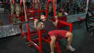 What Muscle Do Bench Press Work How To Do An Incline Bench Press Youtube