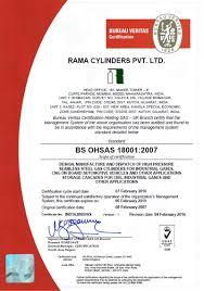 bureau veritas mumbai office international certificate rama cylinders pvt ltd manufacturers