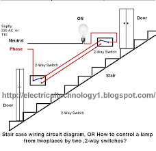 astonishing staircase wiring circuit diagram electrical technolgy