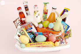 eater baskets practical easter basket ideas one thing by jillee