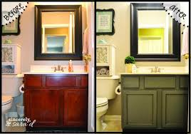 painting bathroom cabinets with chalk paint painting bathroom vanity before and after vanities gallery images