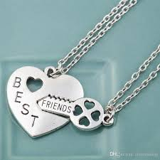 couple necklace chains images Wholesale bff best friends couple friendship heart key puzzle jpg
