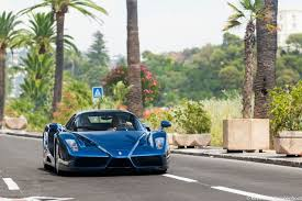 blue enzo third and supercars