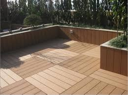 300x900mm wpc interlock decking tile and waterproof balcony