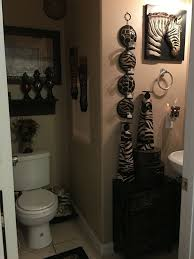zebra bathroom ideas best 25 safari bathroom ideas on bathroom jars