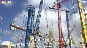spierings mobile tower crane sk597 at4 youtube