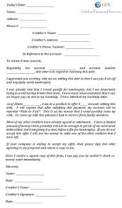 free printable settlement letter sample form generic