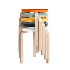 tabouret bas de cuisine tabouret bas aalvar aalto artek mobilier