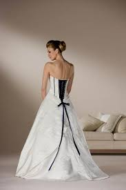 wedding corset blue and white corset wedding dresses naf dresses