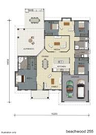 floorplan design single storey display home design townsville
