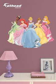 46 best disney princess themed bedroom images on pinterest disney decor disney princess diy wall decals are awesome alternatives to hand painted