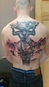 back shoulder tattoos men best 25 atlas tattoo ideas on pinterest mens tattoos atlas