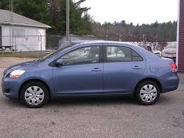 2010 toyota yaris value earthy cars earthy car of the week 2010 blue toyota yaris sedan