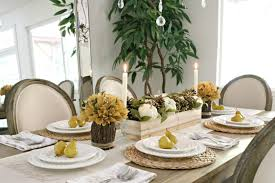 designs by laila simple fall tablescape