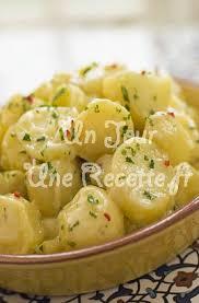recette de cuisine pomme de terre salade pommes de terre et oignons recette facile un jour une recette