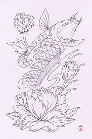 grey koi fish pisces tattoo sketch photo 3 photo pictures and
