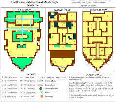 Final Fantasy World Map by Site Map