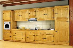 buffet de cuisine en pin massif meuble de cuisine pin meuble