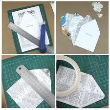 Make Your Own Envelope Make Your Own Envelope With Inner Lining U0026 Matching Confetti
