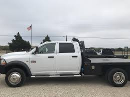Dodge Ram 5500 Truck - 2012 dodge ram 5500 hd crewcab flatbed for sale in greenville tx