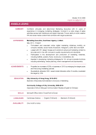 Sample Resume Of Marketing Executive by Marketing Executive Cv Ctgoodjobs Powered By Career Times