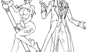 Harley Quinn Coloring Pages To Print Joker And Vintage Thaypiniphone Coloring Pages Joker