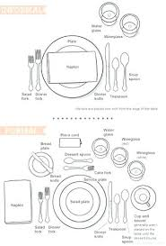 how do you set a table properly proper table setting the classy woman a manners monday how to