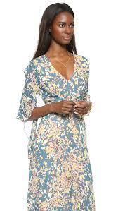 turmec bcbgmaxazria dress long sleeve printed maxi