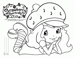 100 strawberry shortcake free coloring pages princess belle