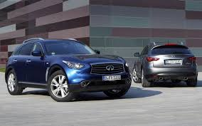jeep grey blue infiniti fx series infinity jeep blue crossover grey front rear