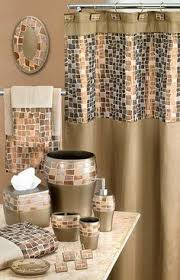Shower Curtain Bathroom Sets Class Bathroom Sets With Shower Curtain And Rugs Accessories