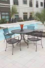Wrought Iron Patio Dining Set - patio furniture arlington heights chicago il patio dining