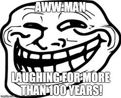 Aww Meme Face - troll face memes imgflip