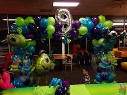 monsters university balloon arch www yolanda
