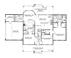 one story colonial house plans house plan 62072 at familyhomeplans