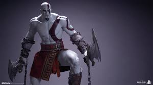 Statues Of Gods by God Of War Kratos Statue By Efx Sideshow Collectibles
