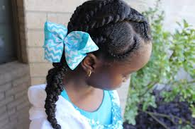 discoveringnatural threading and cornrow hairstyle natural hair