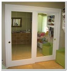 Mirror Closet Door Replacement Decoration Sliding Mirror Closet Doors Makeover With Mirrored