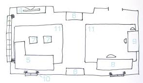 Layout Of Floor Plan Space Planning 101 Five Ways To Plan A Room Layout Young House Love