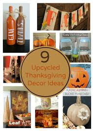 9 eco friendly upcycled thanksgiving decoration ideas earth911