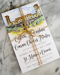 our wedding invitations blonde across the pond