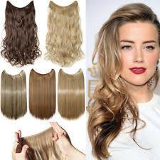 uniwigs halo wavy medium brown hair extentions hair top piece ebay