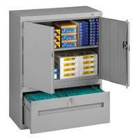 Tennsco Bookcase Tennsco Combination Bookcase Storage Cabinets
